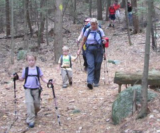 family events - hiking